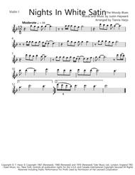 Download the moody blues: nights in white satin for flute choir.