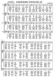 Good King Wenceslas A Cappella