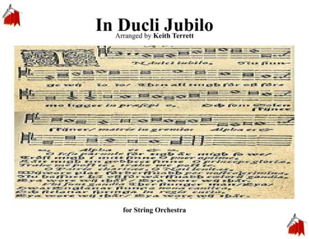 In Dulce Jubilo for String Orchestra