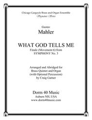 What God Tells Me (Finale from Symphony No. 3)