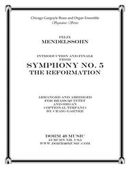 Introduction & Finale, from Symphony #5