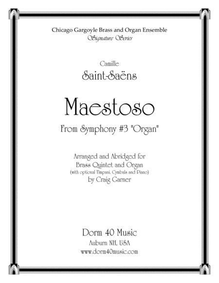 Maestoso, from Symphony #3