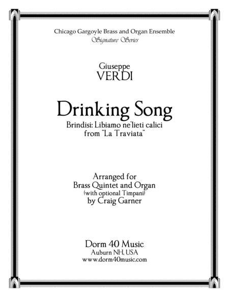 Drinking Song (Brindisi) from