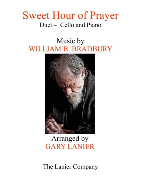 SWEET HOUR OF PRAYER (Duet – Cello & Piano with Score/Part)