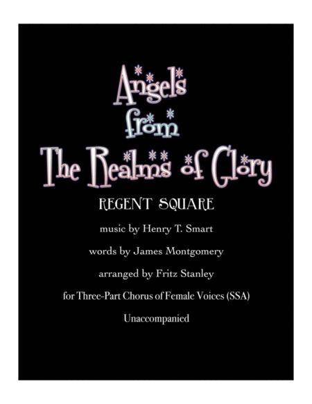 Angels from The Realms of Glory - SSA A Cappella