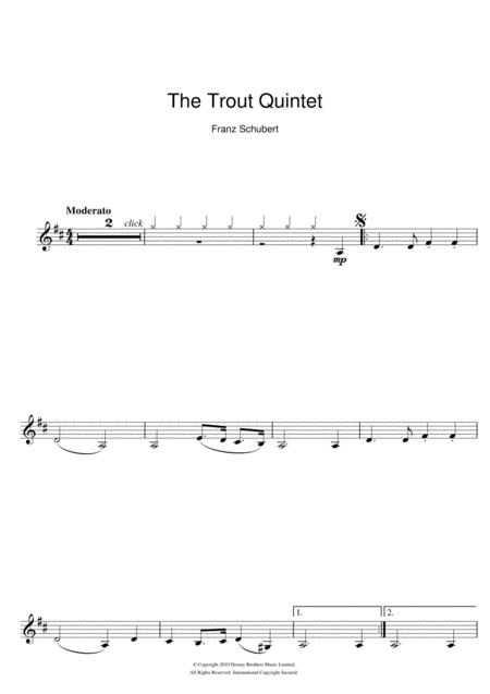 Theme From The Trout Quintet (Die Forelle)