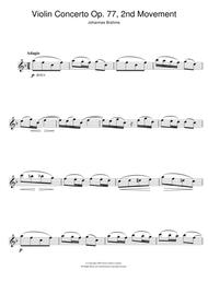 Violin Concerto (2nd Movement)