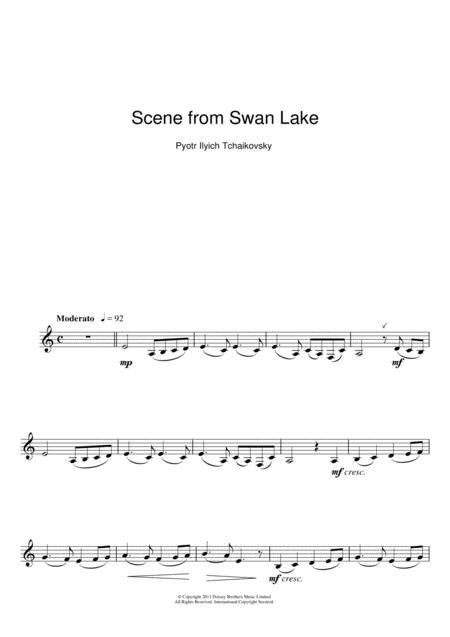 Scene from Swan Lake