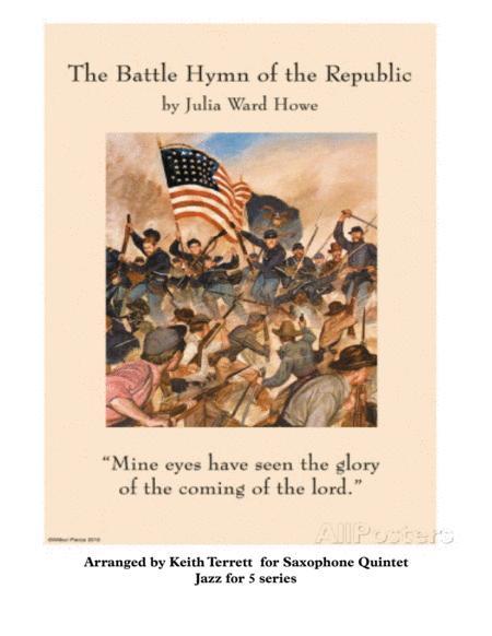 Battle Hymn of the Republic for Saxophone Quintet