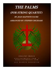 The Palms (for String Quartet)