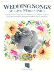 Wedding Songs of Love & Friendship - 2nd Edition