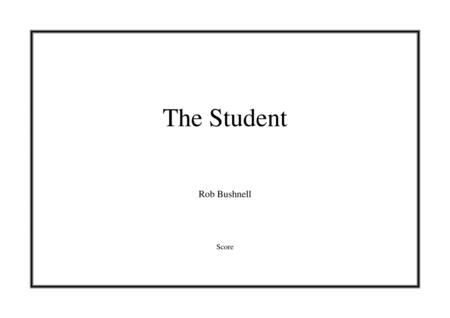 March: The Student (Rob Bushnell) - Brass Band