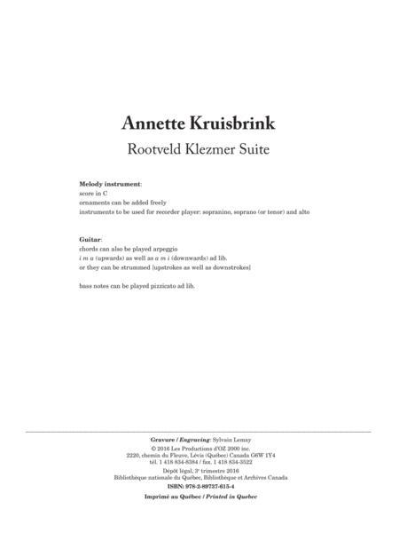 Rootveld Klezmer Suite