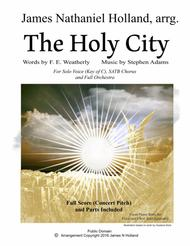 The Holy City for Voice, SATB Choir and Orchestra Key of C