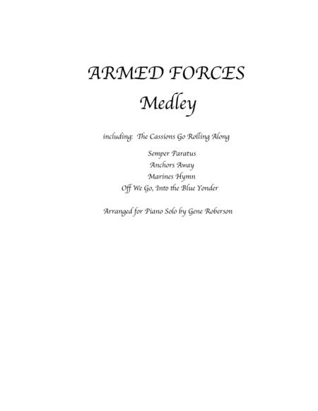USA ARMED FORCES Medley - Five Branches