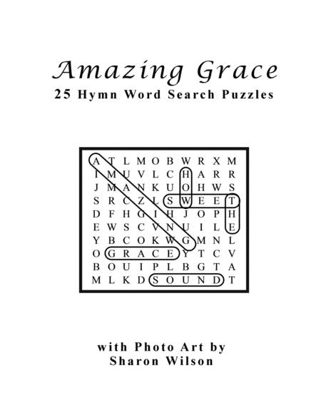 Amazing Grace (25 Hymn Word Search Puzzles)