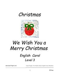 We Wish You a Merry Christmas. Lev 3