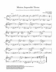 Mission: Impossible Theme for solo piano