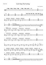 Can't Stop The Feeling by Justin Timberlake - Drum Set