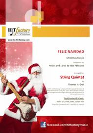 Feliz Navidad - Christmas Classic - String Quintet