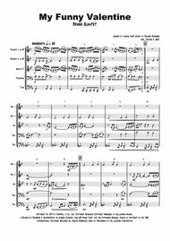 My Funny Valentine - Jazz Ballad - Brass Quintet
