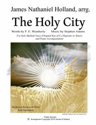 The Holy City for Solo Medium (Soprano or Tenor) Voice and Piano (Key of C)