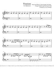 Titanium: Easy Piano