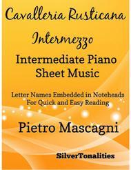 Cavalleria Rusticana Intermediate Piano Sheet Music