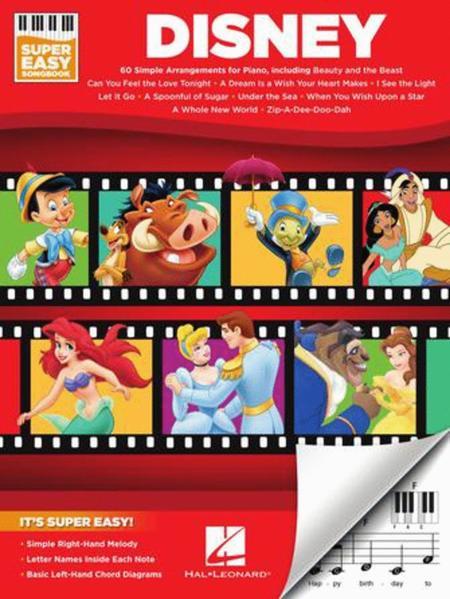 Disney - Super Easy Songbook