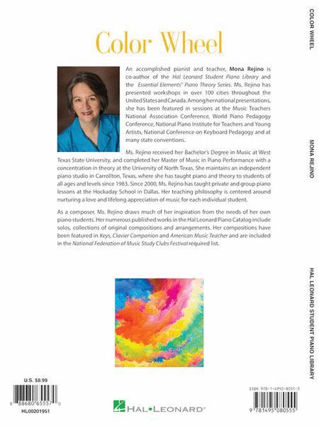 Preview Color Wheel By Mona Rejino Hl 201951 Sheet Music Plus