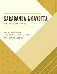 Sarabanda and Gavotta for Tenor Saxophone & Piano