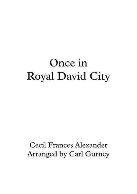 Once in Royal David City