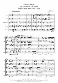 Tchaikovsky: Casse-Noisette: Nutcracker Suite IIb. Danse de la Fée Fragée ( Dance of the Sugar Plum Fairy) - wind quintet