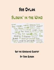 Blowin' In The Wind - Woodwind Quartet