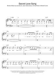 Secret Love Song (featuring Jason Derulo)