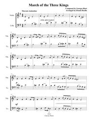 March of the Three Kings - Mixed String Duet (Violin & Cello) -  Intermediate
