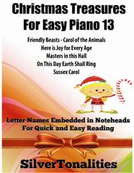Christmas Treasures for Easy Piano Volume 13 Sheet Music