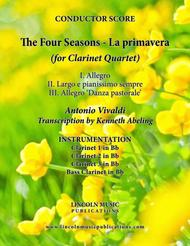 The Four Seasons - La Primavera (for Clarinet Quartet)
