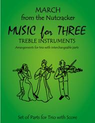 March from The Nutcracker for Flute Trio (Two Flutes & Alto Flute)