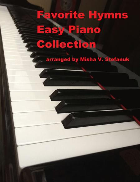 Favorite Hymns Easy Piano Collection
