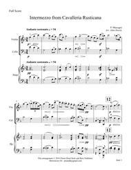 Intermezzo from Cavalleria Rusticana- chamber ensemble
