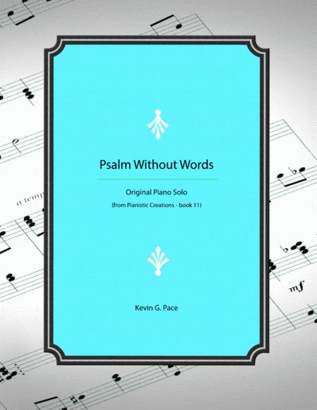 Psalm Without Words - Original Piano Solo