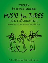 Trepak from The Nutcracker for Violin Trio