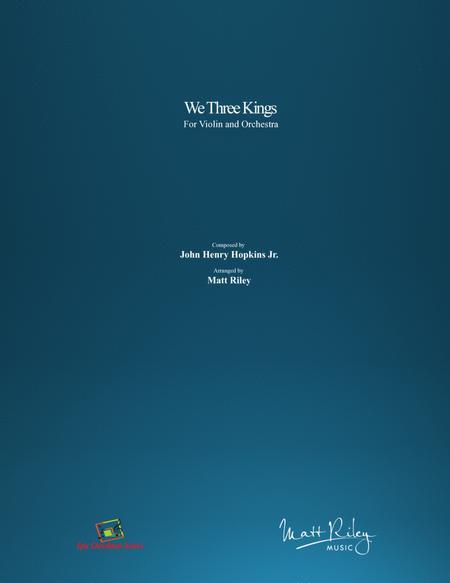 We Three Kings - Violin & Orchestra