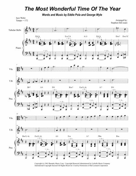 The Most Wonderful Time Of The Year (Duet of Violin and Viola)