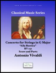 Concerto for Strings in G Mayor