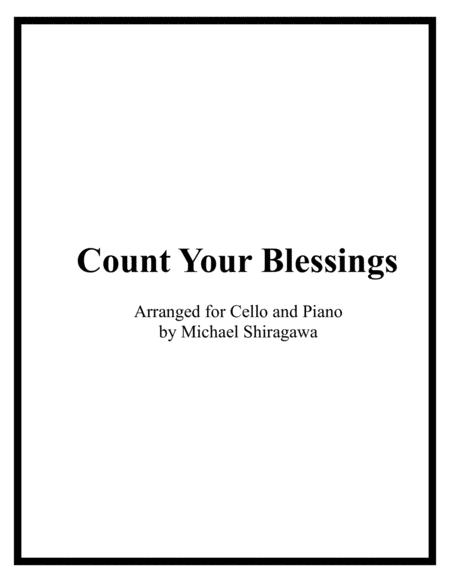 Count Your Blessings - Cello