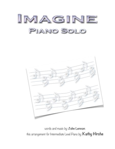 Imagine - Piano Solo