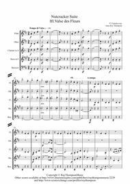 Tchaikovsky: Casse-Noisette: Nutcracker Suite III. Valse des Fleurs (Waltz of the Flowers) - wind quintet