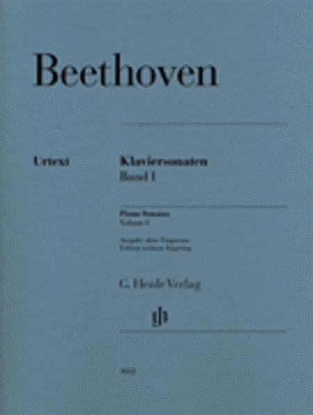 Piano Sonatas Volume 1